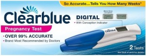 Clearblue Pregnancy Test Kit Conception Indicator (small)