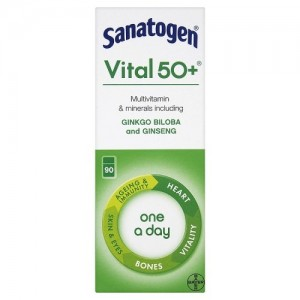 Sanatogen Vital 50+ Multi Vitamin Mineral Supplement
