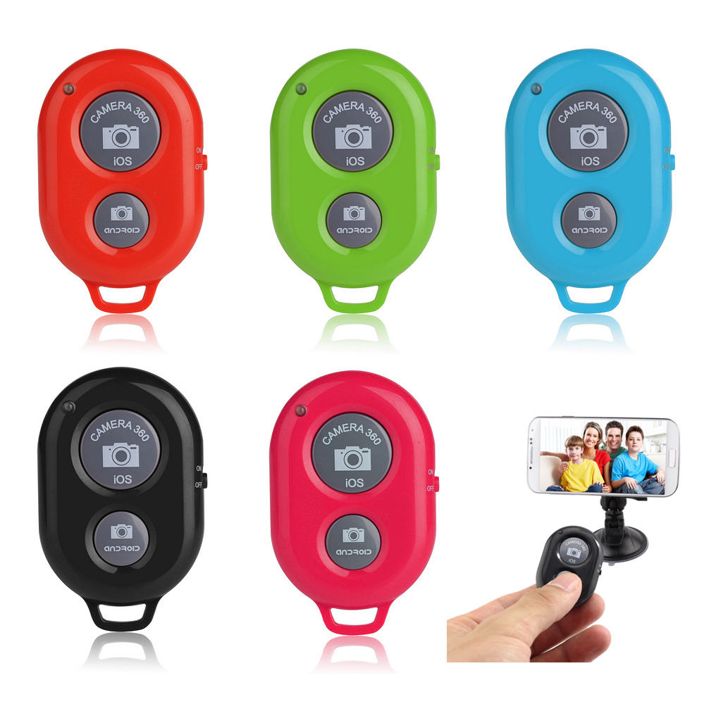 Wireless Bluetooth Camera Remote Control Shutter