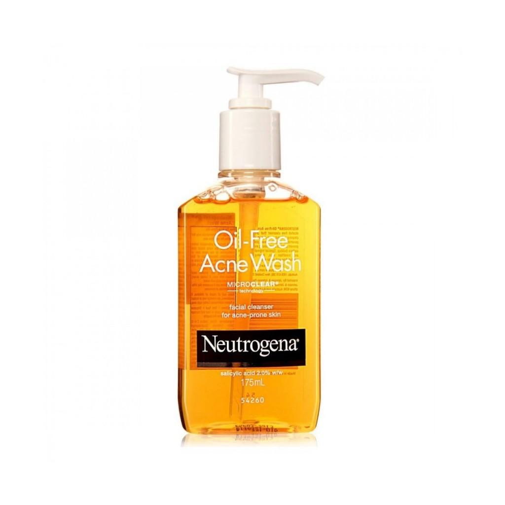 Acne wash oil free