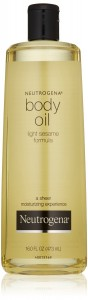 neutrogena body oil