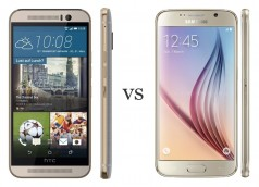 HTC One M9 vs Samsung Galaxy S6 Comparison