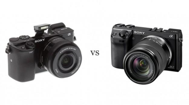 A6000 vs Nex 7