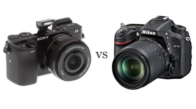 Sony A6000 & Nikon D7100